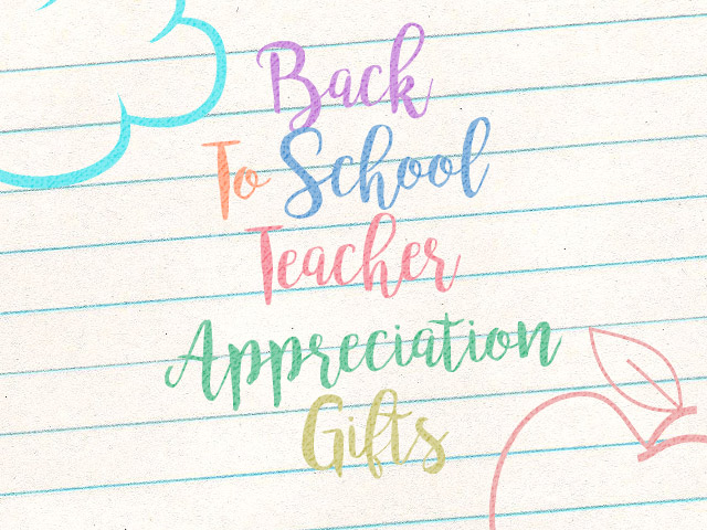 Back to School Teach Appreciation Printable