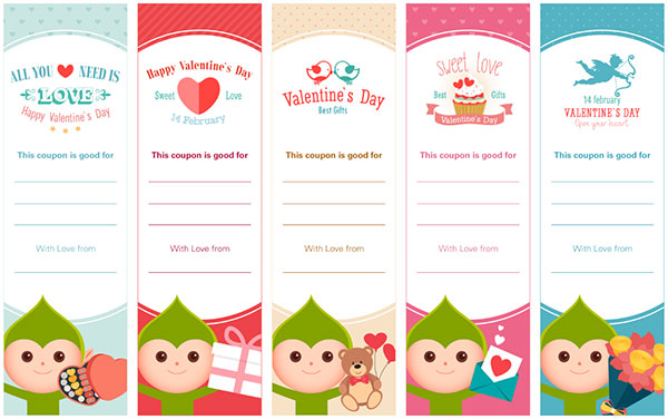 Valentines Day Coupons Sample