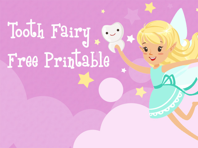 Tooth Fairy Letter Printable